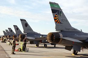 F-16 Fighting Falcon USAF - Northern Edge 2006 Air Force Excercise