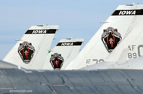 Three F-16 Fighting Falcons - Northern Edge 2006 Air Force Excercise - USAF