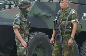 Joint French & Finnish Patrol