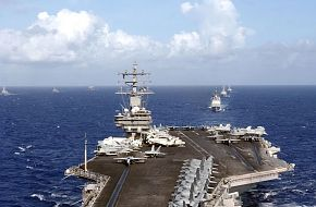 Nimitz-class aircraft carrier USS Ronald Reagan (CVN 76) - Valiant Shield 2