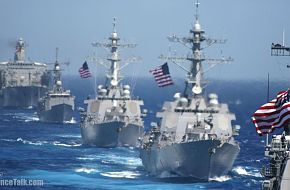 US Navy Ships - Valiant Shield 2006.