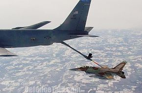 IAF F-6I sufa refueling with KC-135, Israel