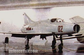 J-7 Fishbed - Chinese Air Force