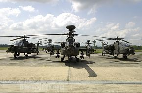 AH-64D Longbow Attack Helicopters