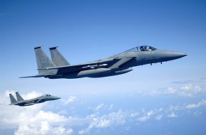 F-15 Strike Eagles  - Valiant Shield 2006