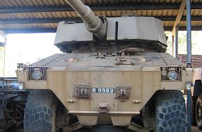 Bismark Prototype for Rooikat Project - South African Army