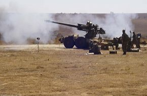 GV5 155 mm howitzer - South African Army