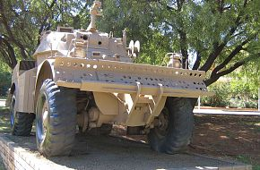 Eland 60/90 series wheeled reconnaissance vehicle