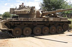 Olifant MK1 - South African Army
