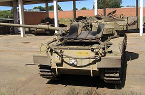 Olifant Mk1a - South African Army