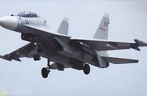 Su-30MKK2 Flanker - PLA Air Force