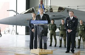 First Rafale Squadron - French Air Force Ceremony