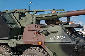 Dana wheeled 152mm self-propelled artillery - Polish Army