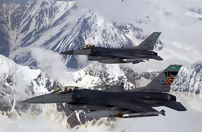 F-16 Fighting Falcon during Exercise Northern Edge 2006