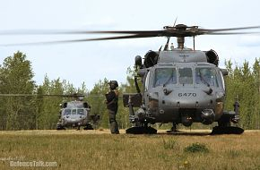 Two HH-60 Pave Hawks