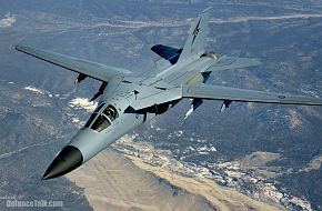1SQN F-111C over Nellis AFB, Nevada, during Red Flag '06