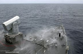 counter measure wash down system aboard amphibious dock landing ship USS To