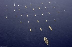 Formation of ships and submarines - RIMPAC 2006