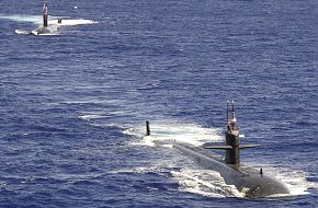 USS Chicago (SSN-721) and USS Colombia (SSN-771)