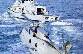 Westland Merlin HMA 1 and Type 23 frigate