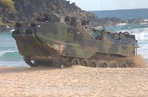 An Amphibious Assault Vehicle (AAV) - RIMPAC 2006