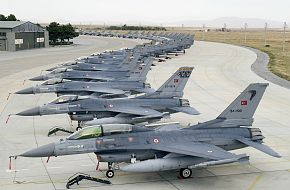 F-16 Fighter Jet Pakistan and Turkish Air Forces