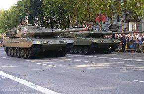 Spanish Army - Leopard 2E Main Battle Tank