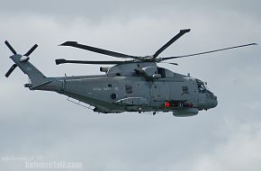 Royal Navy EH101 Merlin Helicopter
