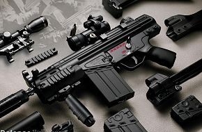 Small arms - Military Weapons Wallpapers