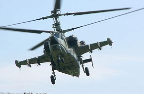 KA-50 Black Shark Combat Helicopter - Military Aircraft Wallpapers