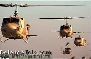 Iranian Air Force Helicopters - Zolfaqar war games, 1st stage