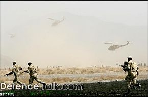 Irani Soldiers and helicopter - Zolfaqar war games, 1st stage