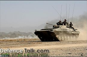 Iran Army Armored Vehicle - Zolfaqar war games, 1st stage