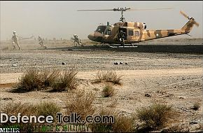 Iranian Helicopter - Zolfaqar war games, 1st stage