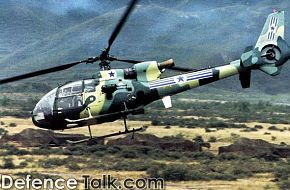 SA 342L Gazelle - People's Liberation Army Air Force