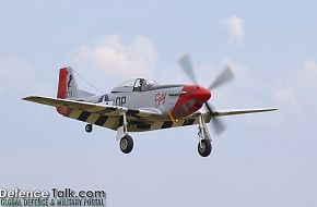North American P-51 D-25-NA Mustang - US Air Force
