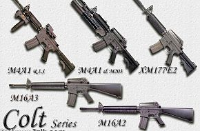 Colt Series Guns - Military Weapons Wallpapers
