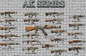 AK Series Guns - Military Weapons Wallpapers