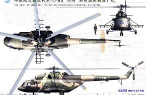 Mi-8 Hip - People's Liberation Army Air Force