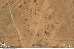 SAM site - Syrian Air Defence Force