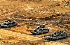 Abrams Tanks, US Army - Military Weapons Wallpapers