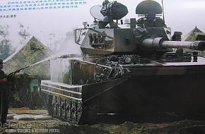 Type 63A Amphibious Tank - People's Liberation Army