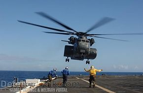 MH-53 helicopter takes off - RIMPAC 2006