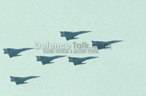PAF Mirage III - Pak National Day Parade, March 1976