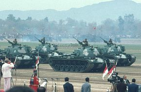 Pakistan Army Tanks - Pak National Day Parade, March 1976