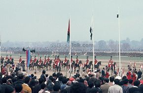 Army Cavlary Unit - Pak National Day Parade, March 1976