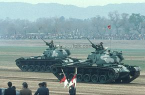 Pak Army Tanks - National Day Parade, March 1976