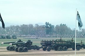 Pakistan Army Mortar - National Day Parade, March 1976
