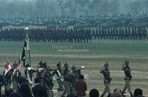 Army Saluting - Pak National Day Parade, March 1976