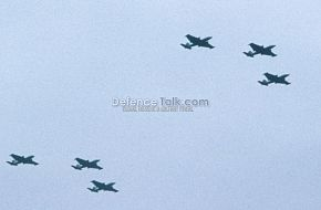 PAF Canberra Bombers - National Day Parade, March 1976